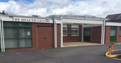 Photo of the front of the Health Centre
