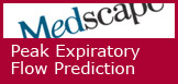 Calculate your own predicted peak expiratory flow